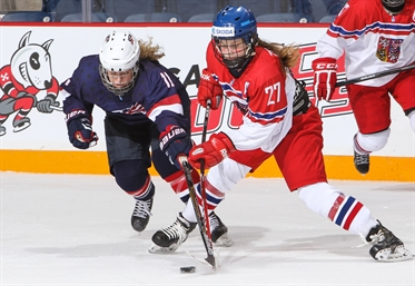 Women's U18 back in CZE