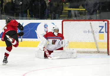 Merkusheva named Best Goalie